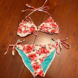 GUESS Floral Bikini
